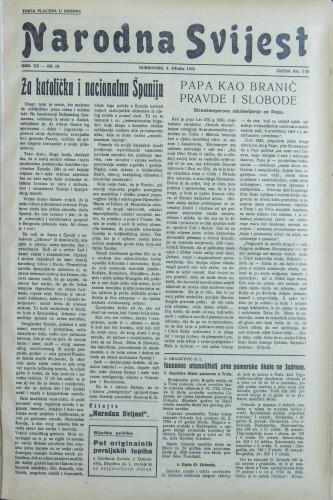 Narodna svijest, 1938/10