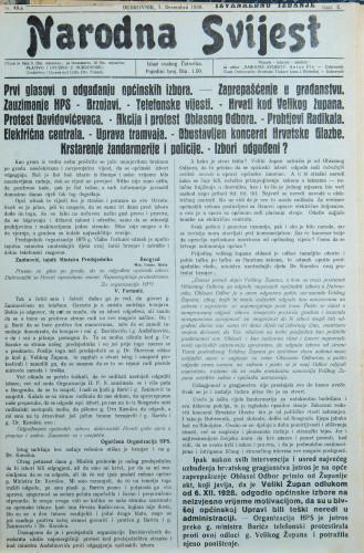 Narodna svijest, 1928/49.a