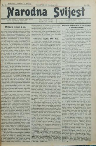 Narodna svijest, 1926/50