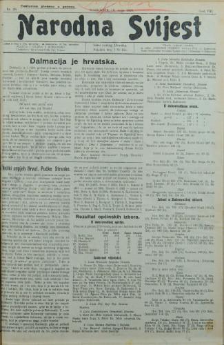 Narodna svijest, 1926/20