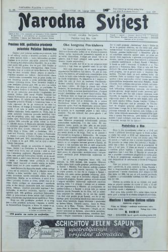 Narodna svijest, 1933/26