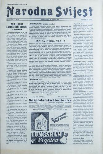 Narodna svijest, 1941/3