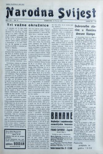 Narodna svijest, 1937/15