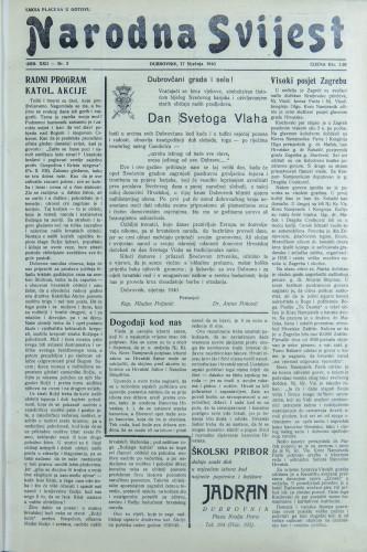 Narodna svijest, 1940/3