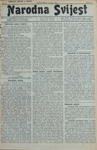 Narodna svijest, 1924/4