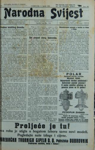 Narodna svijest, 1930/13