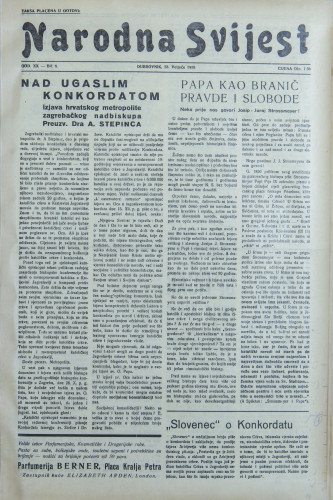 Narodna svijest, 1938/8
