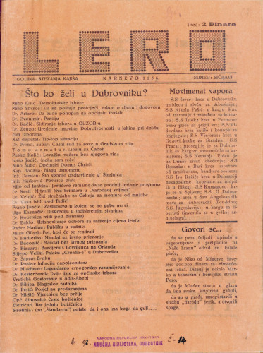 Lero/Numer: sičijavi