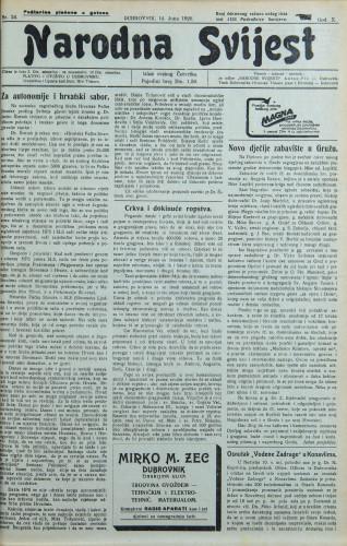 Narodna svijest, 1928/24