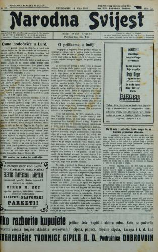 Narodna svijest, 1930/19