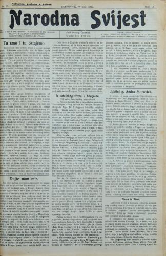 Narodna svijest, 1927/23