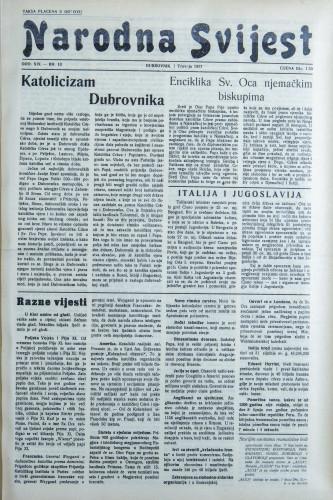 Narodna svijest, 1937/13