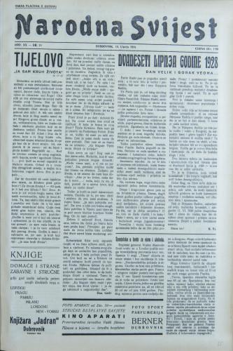 Narodna svijest, 1938/24