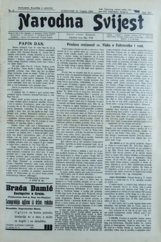 Narodna svijest, 1932/6