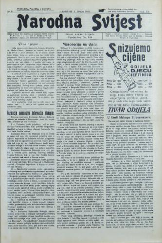Narodna svijest, 1933/9