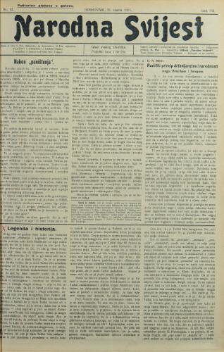 Narodna svijest, 1925/13