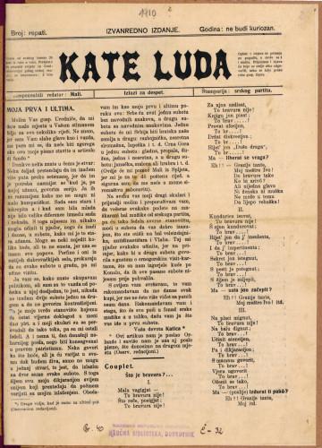 Kate luda/Repati