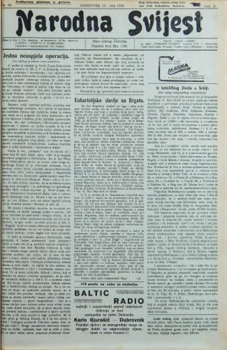 Narodna svijest, 1928/28