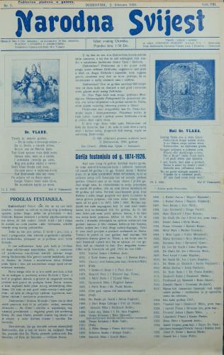 Narodna svijest, 1926/5