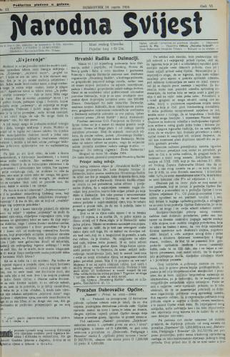 Narodna svijest, 1924/13
