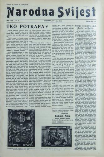 Narodna svijest, 1940/38