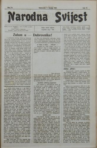 Narodna svijest, 1920/15