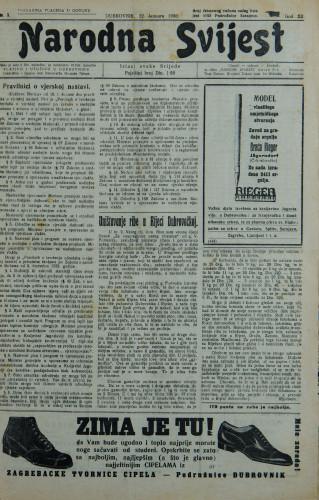 Narodna svijest, 1930/3