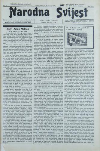 Narodna svijest, 1933/32