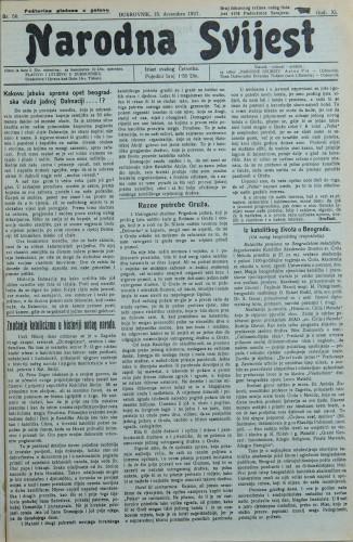 Narodna svijest, 1927/50
