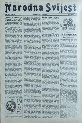 Narodna svijest, 1940/17