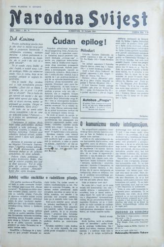 Narodna svijest, 1941/9