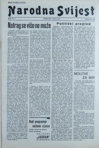 Narodna svijest, 1939/18
