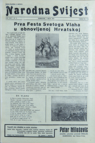 Narodna svijest, 1940/5