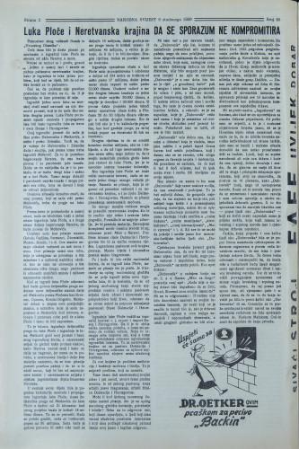 Narodna svijest, 1939/45