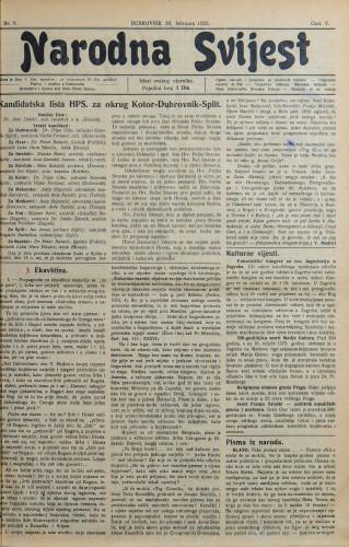 Narodna svijest, 1923/8