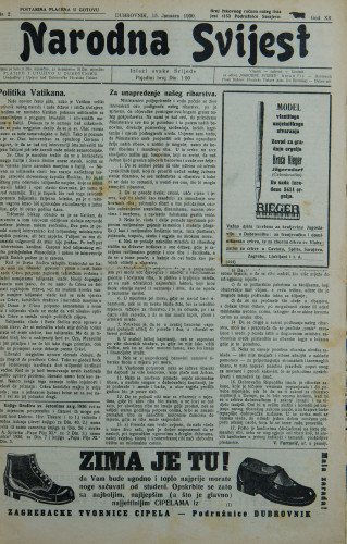 Narodna svijest, 1930/2