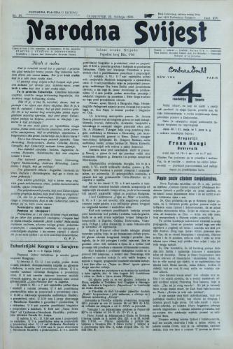 Narodna svijest, 1932/21