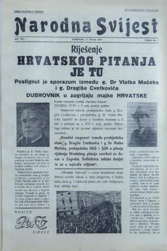 Narodna svijest, 1939/iz-2