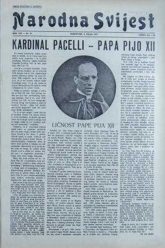 Narodna svijest, 1939/10
