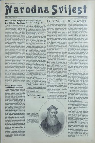 Narodna svijest, 1940/45
