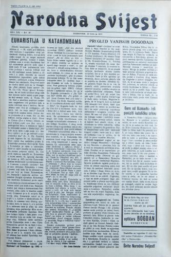Narodna svijest, 1937/19