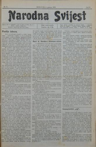 Narodna svijest, 1920/51