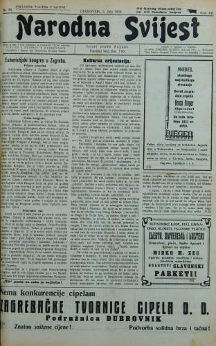 Narodna svijest, 1930/26
