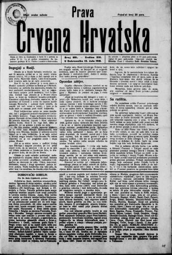 Prava Crvena Hrvatska/691