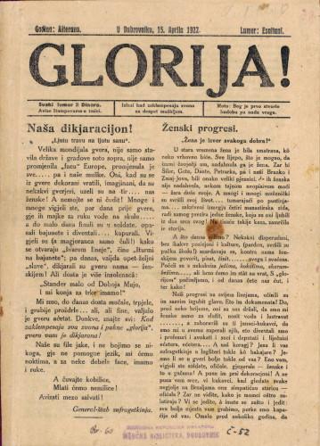 Glorija/Lumer: Esaltani