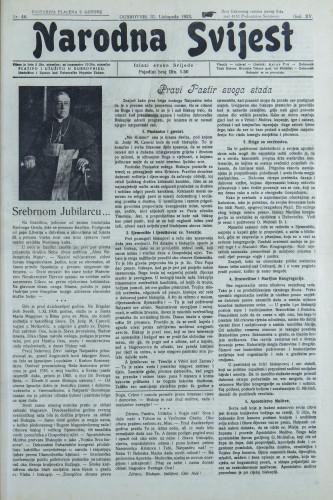 Narodna svijest, 1933/44