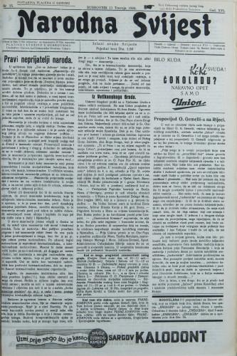 Narodna svijest, 1934/15