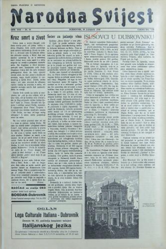 Narodna svijest, 1940/44