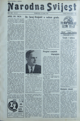Narodna svijest, 1940/18