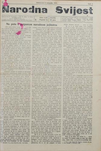 Narodna svijest, 1919/6